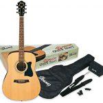 Mejores Guitarra acustica ibanez negra