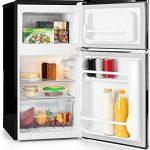 Mini refrigerador con puerta de vidrio