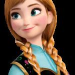 Princesa ana de frozen
