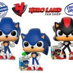 Sonic con aro funko pop sonic