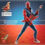Hot toys spider man spider punk