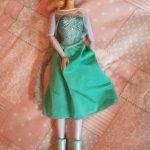 Muñeca frozen elsa patinadora