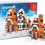 Lego creator gingerbread house