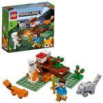 Lego minecraft aventura en la taiga