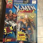 Cable toy biz 1993 marvel x men