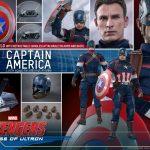 Hot toys capitan americana