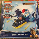 Paw patrol spiral rescue jet
