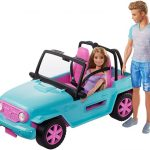 Barbie y ken jeep vehiculo