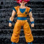 Goku god 20 sh figuarts