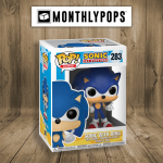 Funko pop sonic with ring