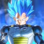 Dragon ball super vegeta blue