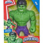 Figuras hulk 8 piezas