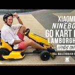 El mejor Go kart xiaomi lamborghini